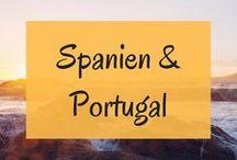 Spanien & Portugal Reise / Reiseberichte, Roadtrips, Routen und Tipps für Reisen nach Spanien und Portugal // mit Azoren und Madeira // Städte, Strände, Wandern, Natur