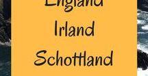 England, Schottland, Irland // Reisen und Roadtrips / Reiseberichte, Routen und Tipps für deine Reise nach England, Schottland und Irland // Städte, Natur, Wandern und Roadtrips