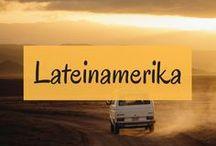 Lateinamerika // Reiseinspiration und Routen / Südamerika steht weit oben auf unserer Bucketlist. Deshalb sammeln wir hier alle Reiseberichte, Reisetipps und Routenvorschläge quer durch Lateinamerika.