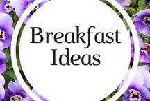 Breakfast Ideas / Healthy breakfast recipes for toddlers.