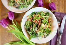 GREAT GREENS / Healthy vegetarian salads