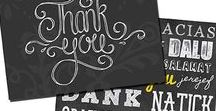 An Attitude of Gratitude / This board shows fun ways you can show gratitude. It includes gifts, thank you notes, journal ideas, crafts, and yummy recipe ideas.