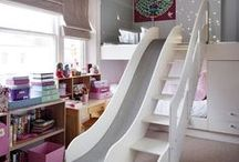 Kool Kids Rooms / Decor for creating fun and exciting rooms for kids. Rooms to relax, play, create, dream and live in.