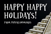 Paper Models / Paper scale architecture by PaperLandmarks http://paperlandmarks.com