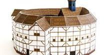 Globe Theatre / Shakespeare's Elizabethan theatre, London