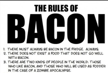 Bacon! / yum, bacon...