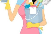 Cleaning! / by Susan Slone
