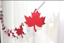 Canada Day - I am Canadian! / Canada Day decor, recipes, crafts, and more!  All things Canadian at amotherworld.com