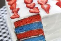 July 4th / July 4th party ideas, recipes, crafts, decor, and all things red, white, and blue.  www.amotherworld.com