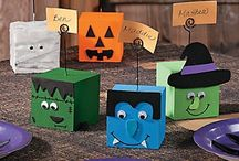 Little Monsters Halloween Fun / Cute and spooky but not too frightful crafts and games for little monsters, boos and ghouls.