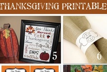 Thanksgiving & Autumn Printables