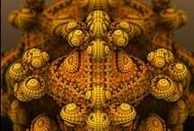 Procedural Imagery / 3D Fractals like the Mandelbulb and other procedural imagery.