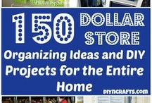 Dollar Store DIY / Crafts, decor and uses for Dollar store items because who doesn't love a bargain/
