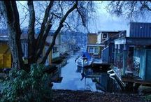 Seattle Floating Homes /  SeattleAfloat.com:  Seattle Houseboats on Lake Union and Portage Bay in Seattle