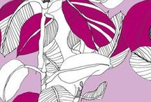Radiant Orchid / Prints & Patterns inspired by Pantone's 2014 Color of the Year / by Spoonflower