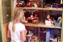 Inspiration for C's dolls house remodel / Dollhouse makeovers. Decorating dolls house. Redecorating. Remodel.
