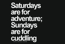 The Weekend is xx / Everyone's favourite part of the week!