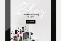 Mexx Blog / The world according to Mexx. Our new blog has arrived. http://www.mexx.com/blog  / by Mexx