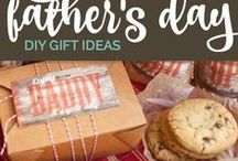 Father's Day / Father's Day gift and activity ideas