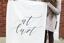 Personalize Your Wedding | Easy DIY Ways to Add a Personal Touch to your Wedding / There are so many easy ways to personalize your wedding.  We found everything from custom printed napkins and invitations, to coordinating bridal shower supplies.  Here are some simple DIY projects that will add a personal touch to surprise your wedding guests. These wedding ideas can be that special touch that your guests remember forever! #wedding #diywedding #weddingideas #weddingplanning #weddingchecklist