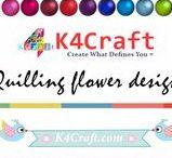 Quilling Flower Designs