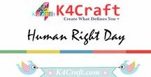 Human Rights Day Crafts