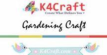 Gardening Craft Ideas