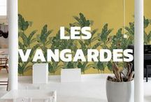 Les Vangardes / Using a very personal style, the Bananella, Chinella and Florella wallpapers take us on a creative journey, away from tradition. Using the newest techniques, the result is a much more interesting design than traditionally could be achieved.  Design by Sophie Pega.