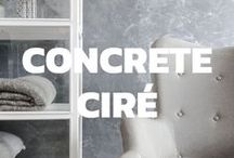Concrete Ciré / Our Concrete Ciré wallpapers now makes it possible to apply this same popular plastering technique as a beautiful metallic wallpaper to your wall, without the need of a single gram of plaster.