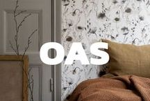 OAS - Sandberg / Every shade, every pattern tells a story, and yet allows you to create our own. It is a place for deep conversation and moments of confidentiality, where you can draw strength by allowing the atmosphere sink into your skin.