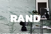 Rand - Sandberg / Rand is an encyclopedia of striped wallpaper – a guide for every room that needs a tasteful and lasting update.