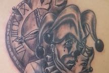 palyaço tattoo / palyaço tattoo
