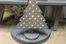 Kerstboom#steigerhout / Steigerhout#kerstboom
