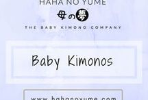 Baby Kimonos / Our all time baby kimono favorites! Cute Japanese baby kimono rompers and apparels for children
