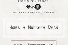 Home and Nursery Deco / Ideas and inspiration for the home and nursery, centered on minimalist and eco-friendly themes