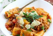 PASTA RECIPES / Craving all the deliciousness of a big bowl of pasta, find your next carb fix here.