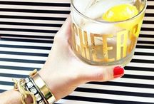 cheers / {to fuel your let's make cute drinks addiction} images are not mine unless otherwise specified. / by Bows, Pearls, & Sorority Girls