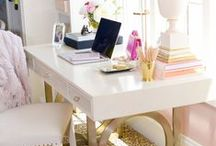 craft room & workspaces / {to fuel your need for a perfectly designed workspace} images are not mine unless otherwise specified. / by Bows, Pearls, & Sorority Girls