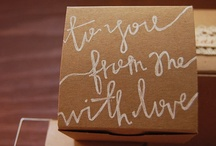 packaging & gifts / {to fuel your cute gift wrapping addiction} images are not mine unless otherwise specified. / by Bows, Pearls, & Sorority Girls