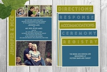 Photo Wedding Invitations / Single, Double, Folded, and Tri-fold photo wedding invitations / by Basic Invite