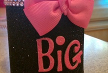 big/little / {to fuel your big/little crafting addiction} images are not mine unless otherwise specified. / by Bows, Pearls, & Sorority Girls