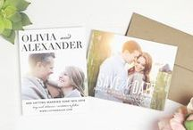 Save The Date Cards / Find great ideas for your save the date cards.  Each card can be created as a magnet,postcard or a traditional single sided card. / by Basic Invite