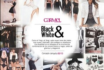 Black & White / Como el Ying y el Yang, cada mujer tiene dos lados... Uno suave y delicado, otro enérgico e impetuoso. Esa dualidad se ve reflejada en la minimalista combinación de los colores blanco y negro, señal de glamour y elegancia.