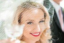 Birdcage Veils / Chic Vintage Veils: Birdcage Veils, Bridal Veils, Wedding Planning