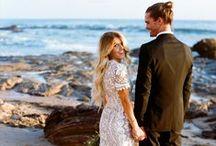 Summer Wedding / Beach Wedding, Summer Wedding Inspiration Board