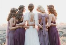 Lilac, Lavender & Purple Wedding / Lilac, Lavender and Purple Wedding Inspiration Board
