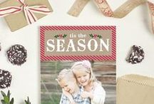 Customizable Christmas Cards / Holiday and Christmas Card Designs That Can Be Instantly Personalized with Your Colors, Photos, and Text. / by Basic Invite