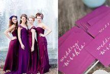 Radiant Orchid Wedding / Radiant Orchid Wedding Inspiration Board