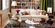 HOME | living room / All kinds of gorgeous furniture, decor, and more for one of the most important rooms in your house: your living room!