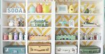 HOME | craft room / Make your craft room a fresh, creative space with these decor ideas!